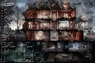 This War of Mine: The Board Game game board