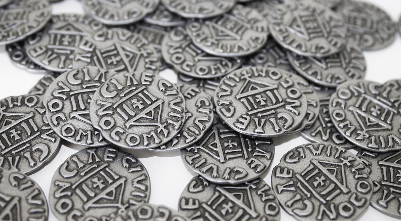 West Kingdom: Metal Coins coins