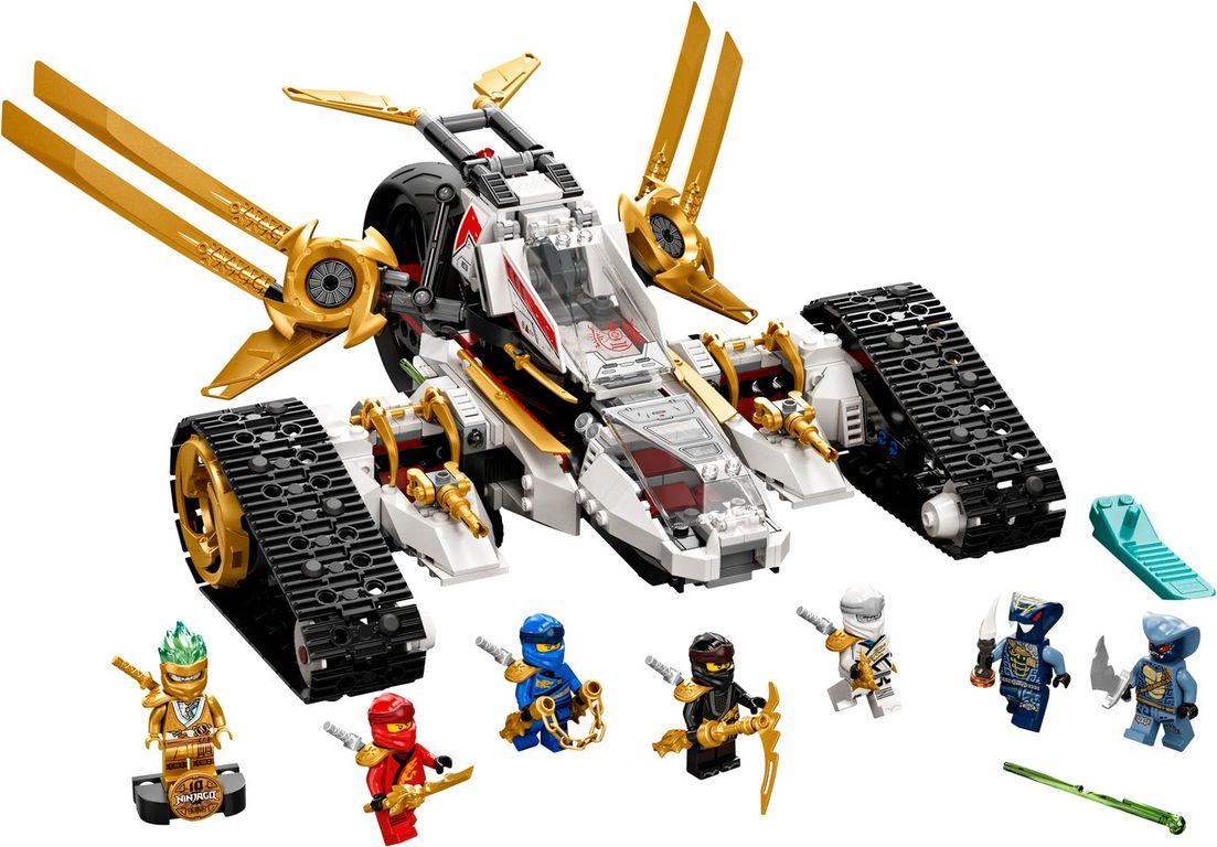 LEGO® Ninjago Ultra Sonic Raider components