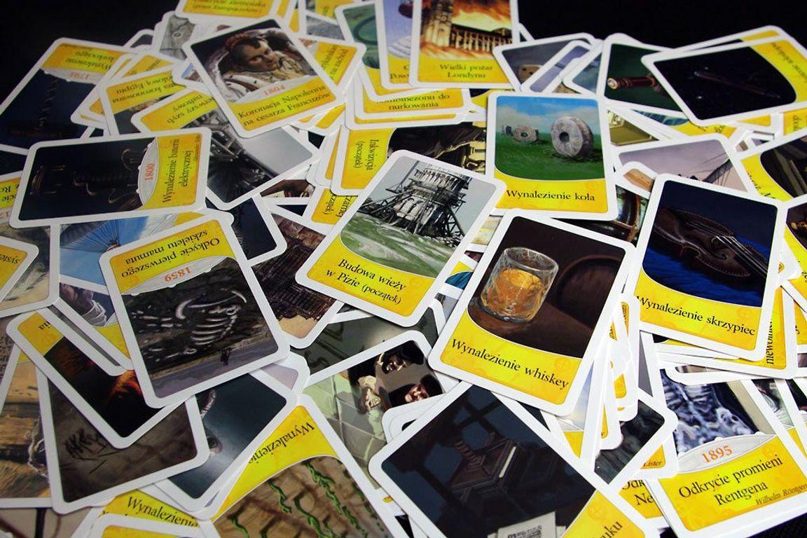 Timeline cards