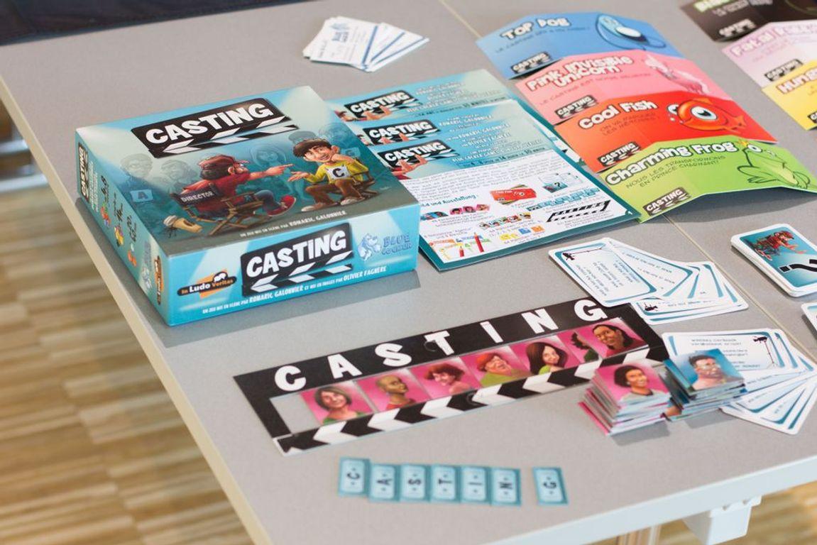 Casting components