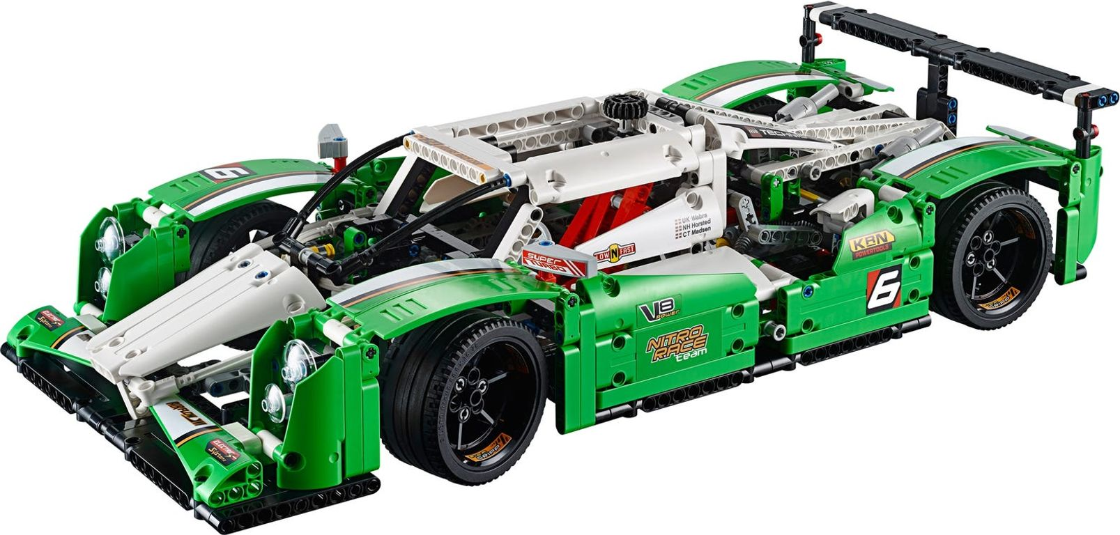 LEGO® Technic 24 Hours Race Car components