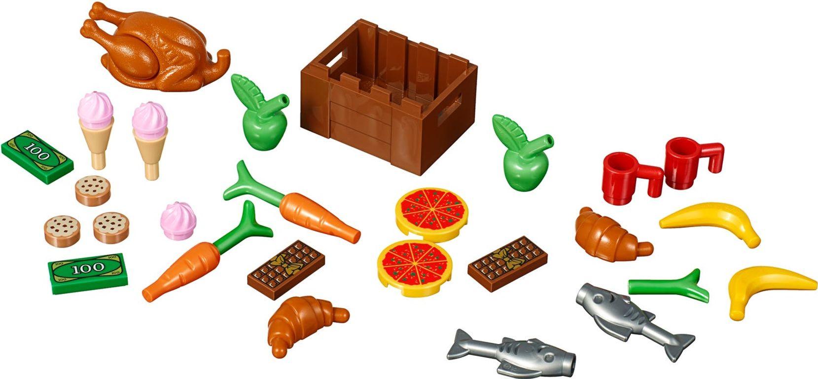 LEGO® Xtra Food Accessories components