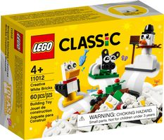 LEGO® Classic Creative White Bricks