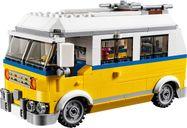 LEGO® Creator Sunshine Surfer Van components