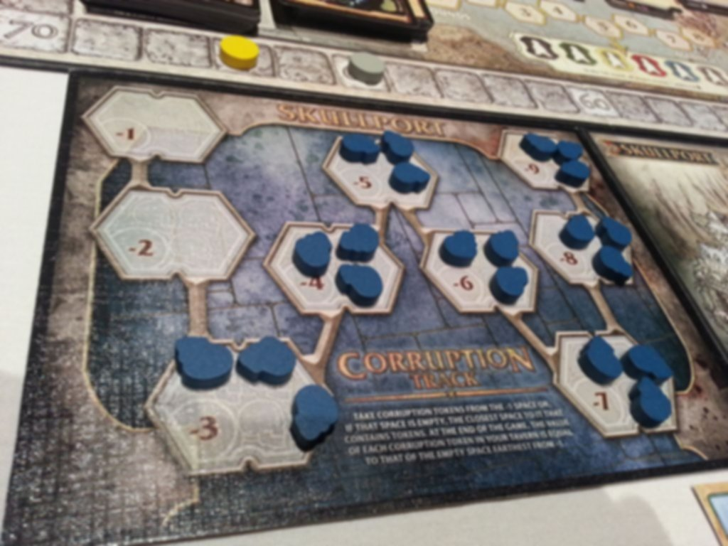 Lords of Waterdeep: Scoundrels of Skullport gameplay