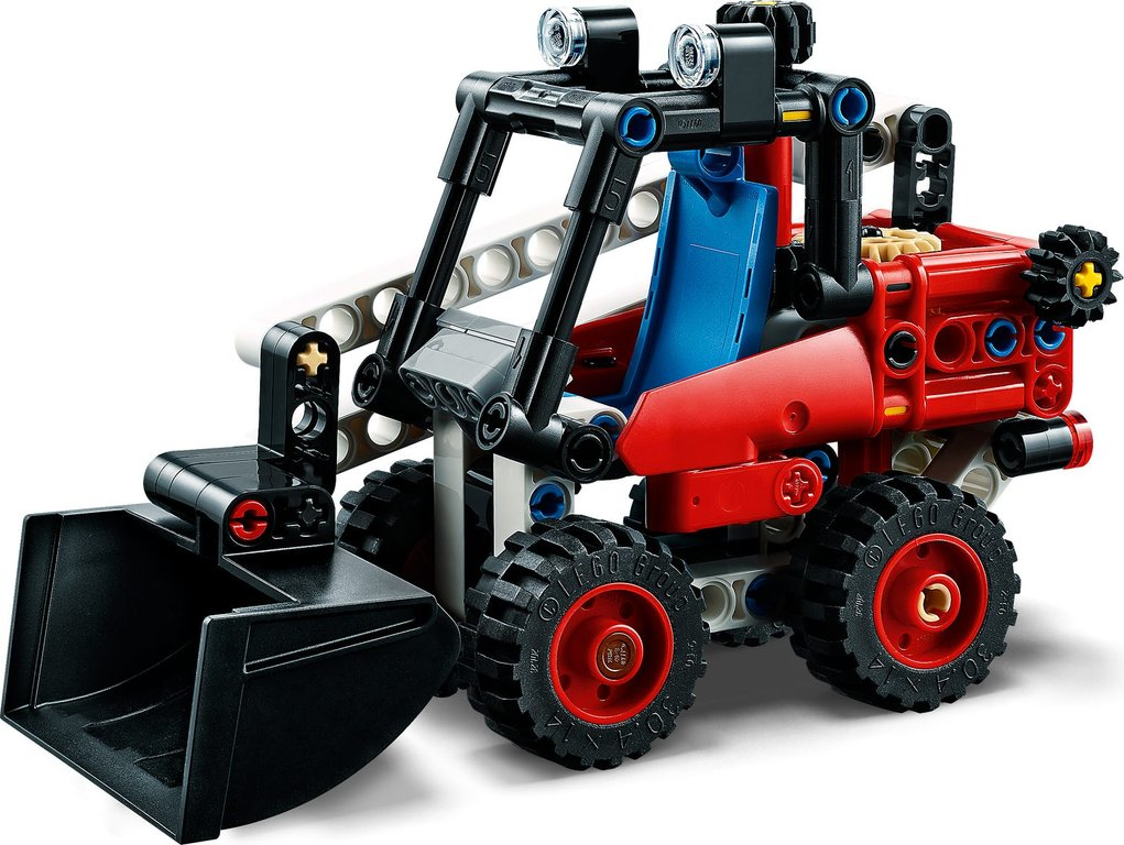 LEGO® Technic Skid Steer Loader components