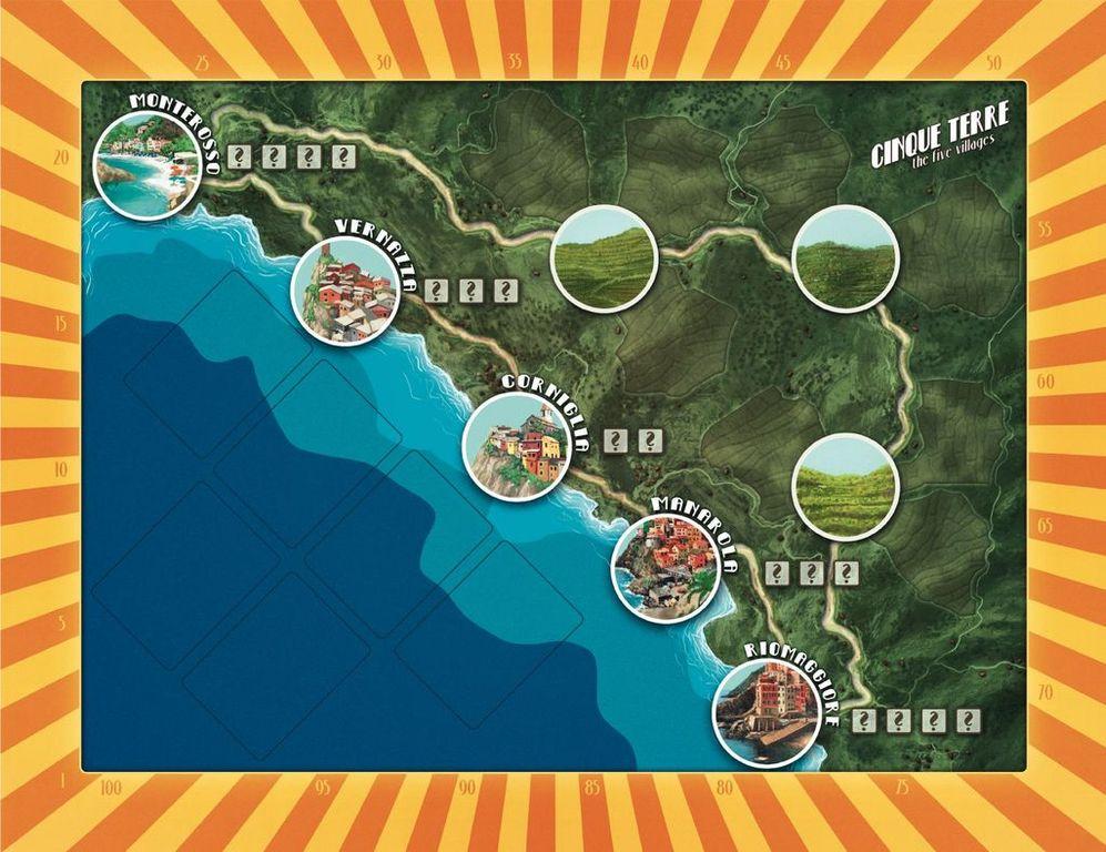 Cinque Terre game board