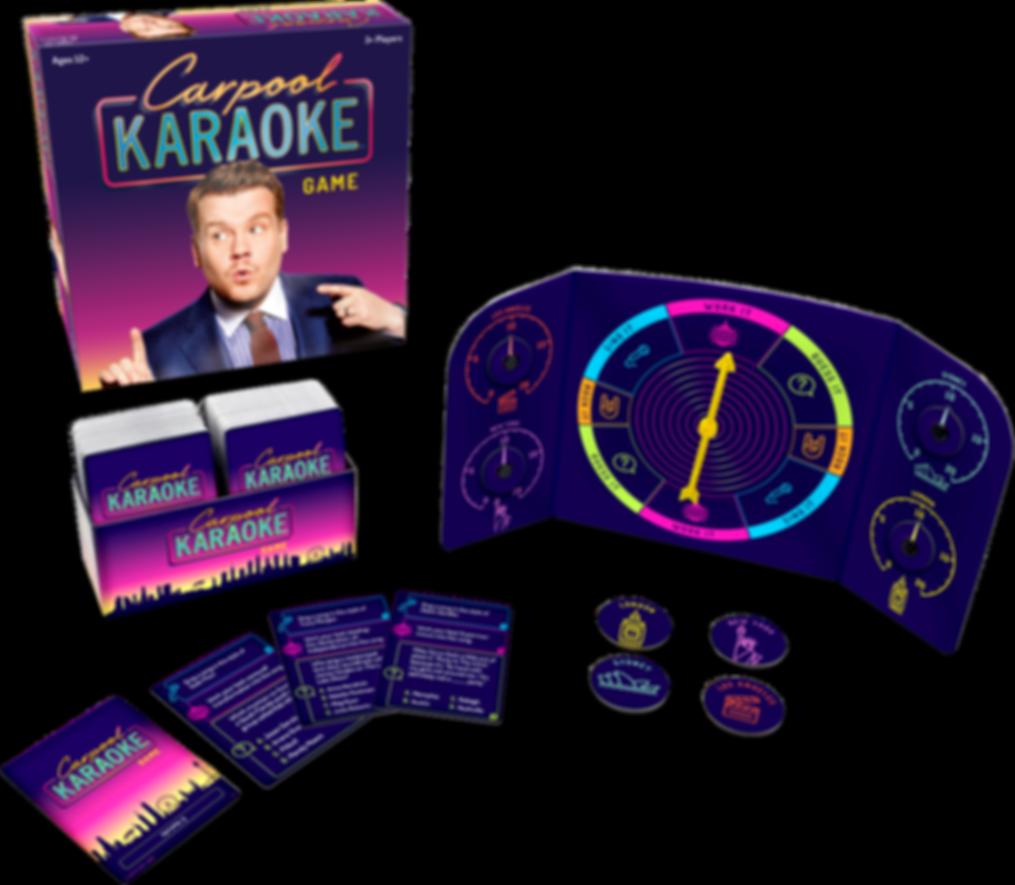 Carpool Karaoke components