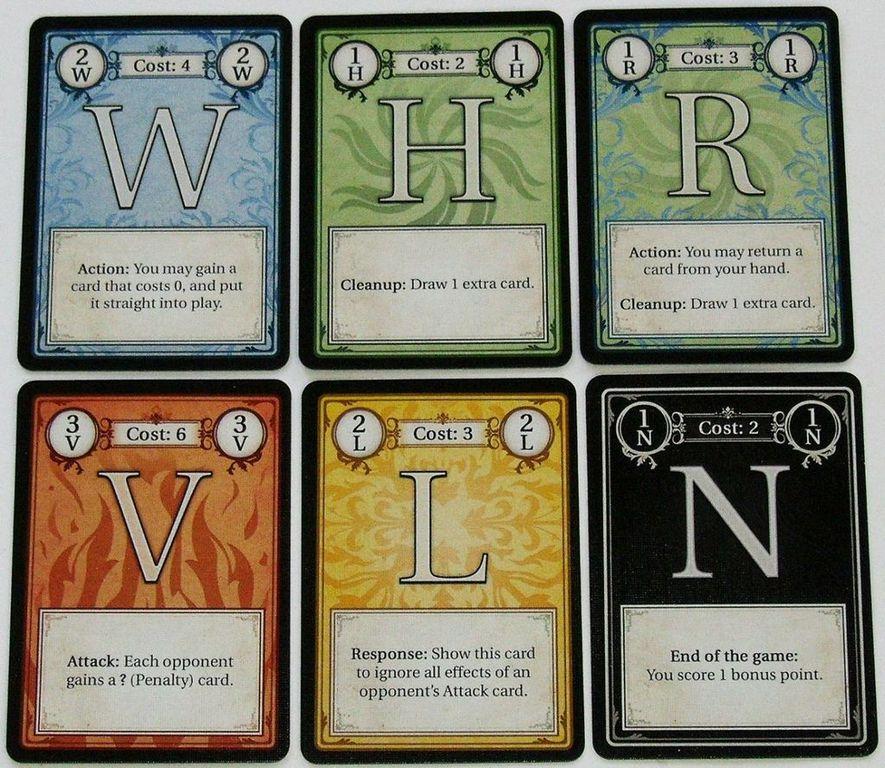 Dexikon cards