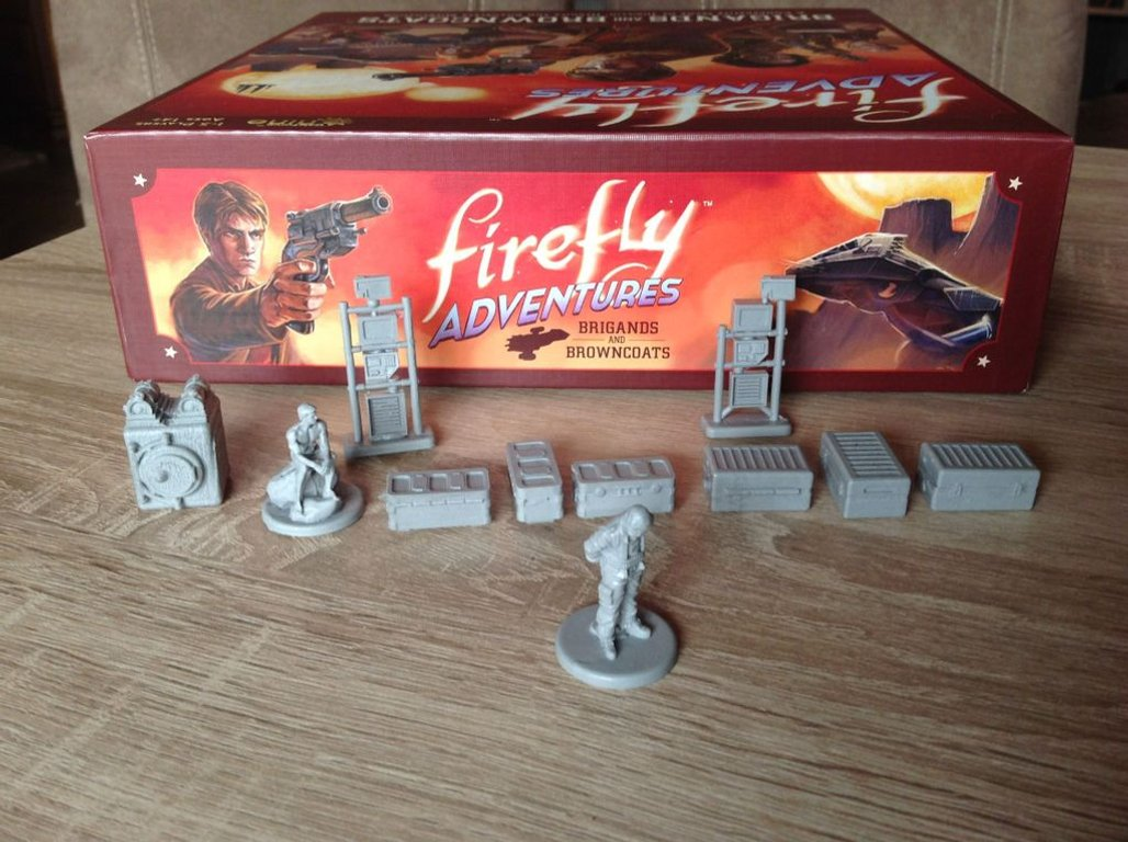 Firefly Adventures: Brigands and Browncoats miniatures