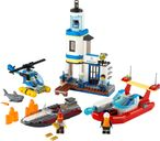 LEGO® City Seaside Police and Fire Mission components