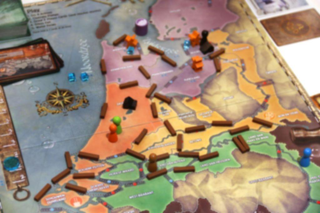 Pandemic: Rising Tide gameplay