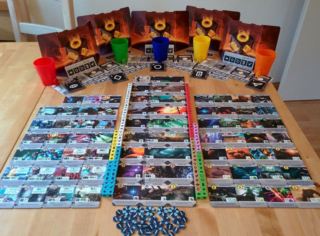 Roll for the Galaxy components