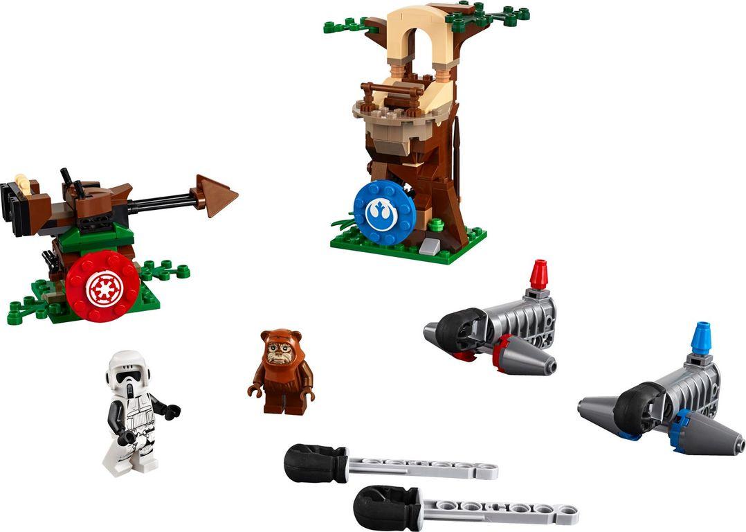 LEGO® Star Wars Action Battle Endor™ Assault components