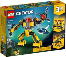 LEGO® Creator Underwater Robot