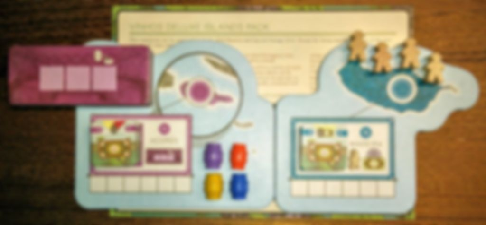 Vinhos Deluxe Edition: Islands Expansion Pack components