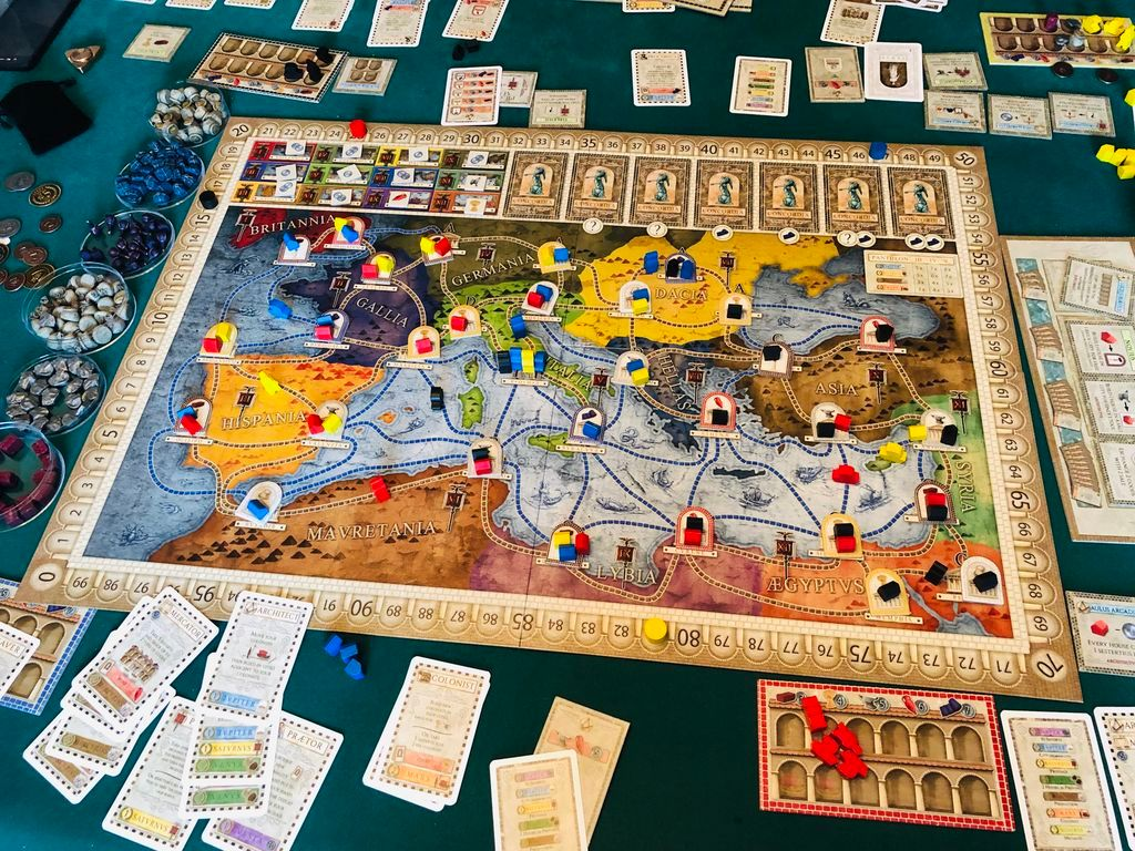 Concordia: Venus (expansion) gameplay