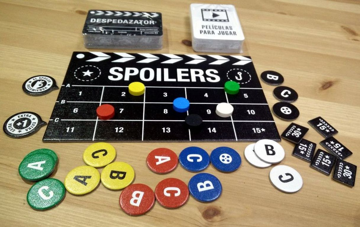 Spoilers components
