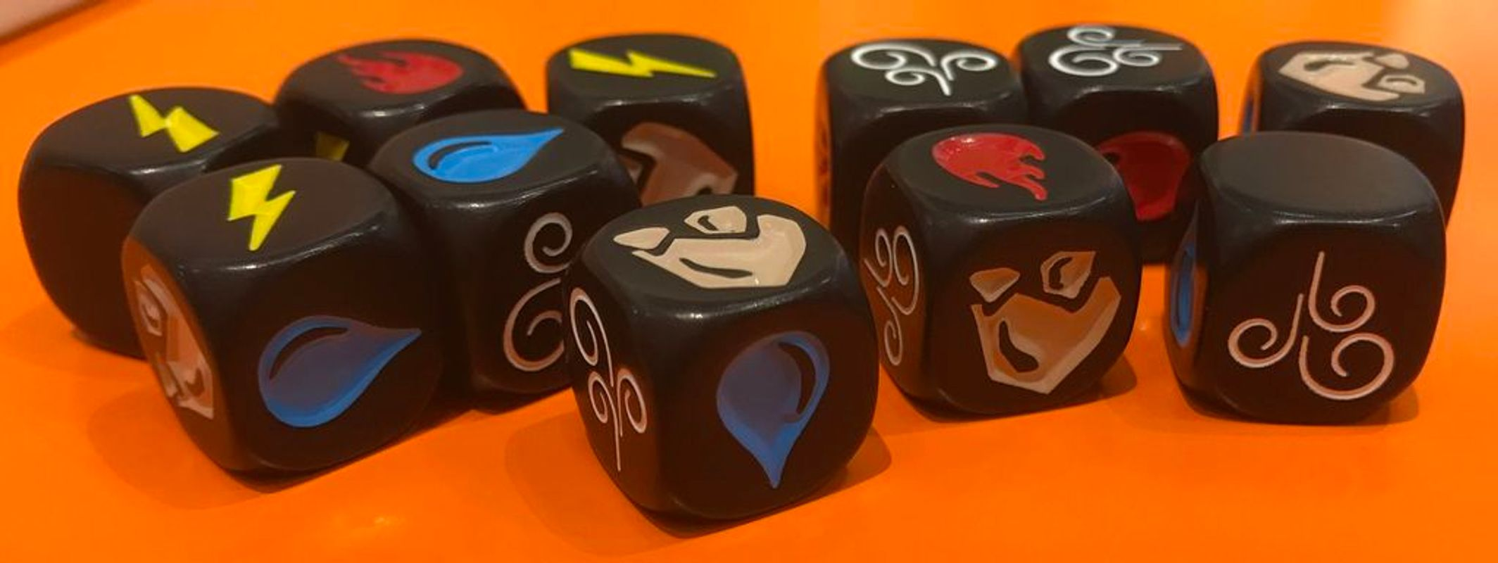 Impact: Battle of Elements dice