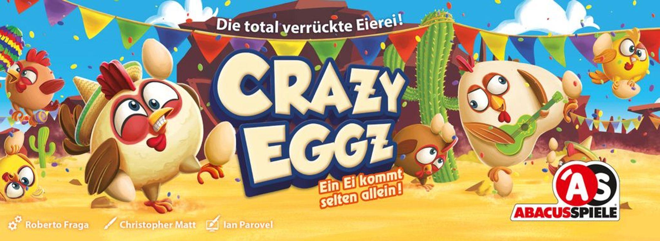 Crazy Eggz box