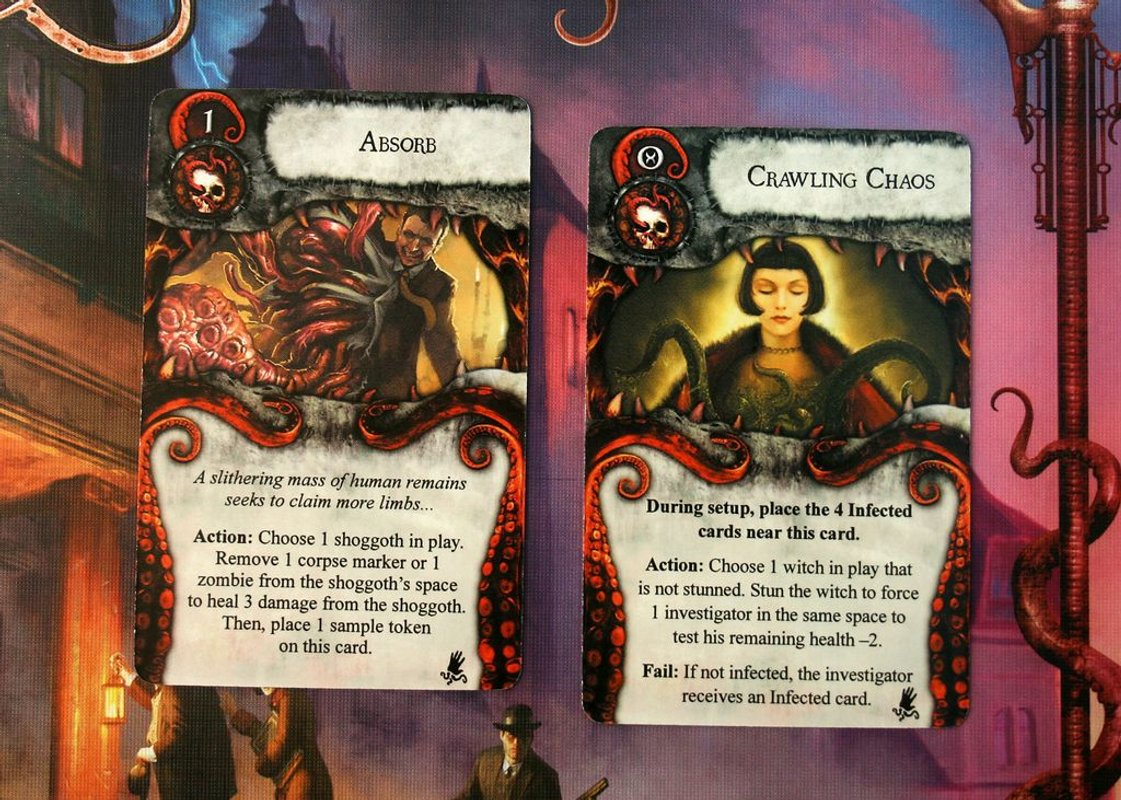 Mansions of Madness: 'Til Death Do Us Part cards