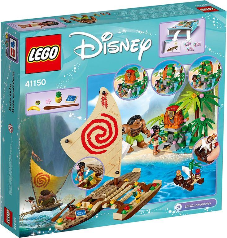 LEGO® Disney Moana's Ocean Voyage back of the box
