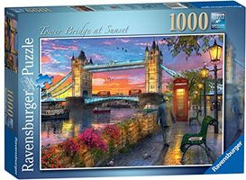 Tower Bridge of London at Sunset
