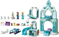 LEGO® Disney Anna and Elsa's Frozen Wonderland components