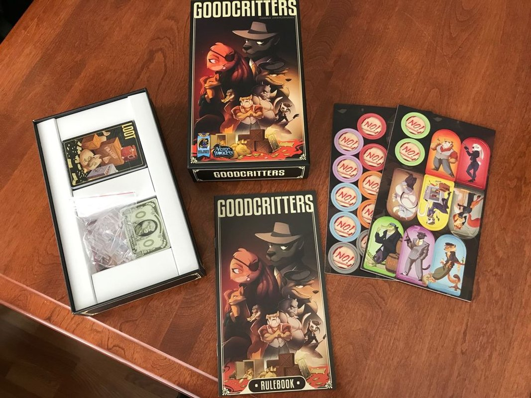 GoodCritters components