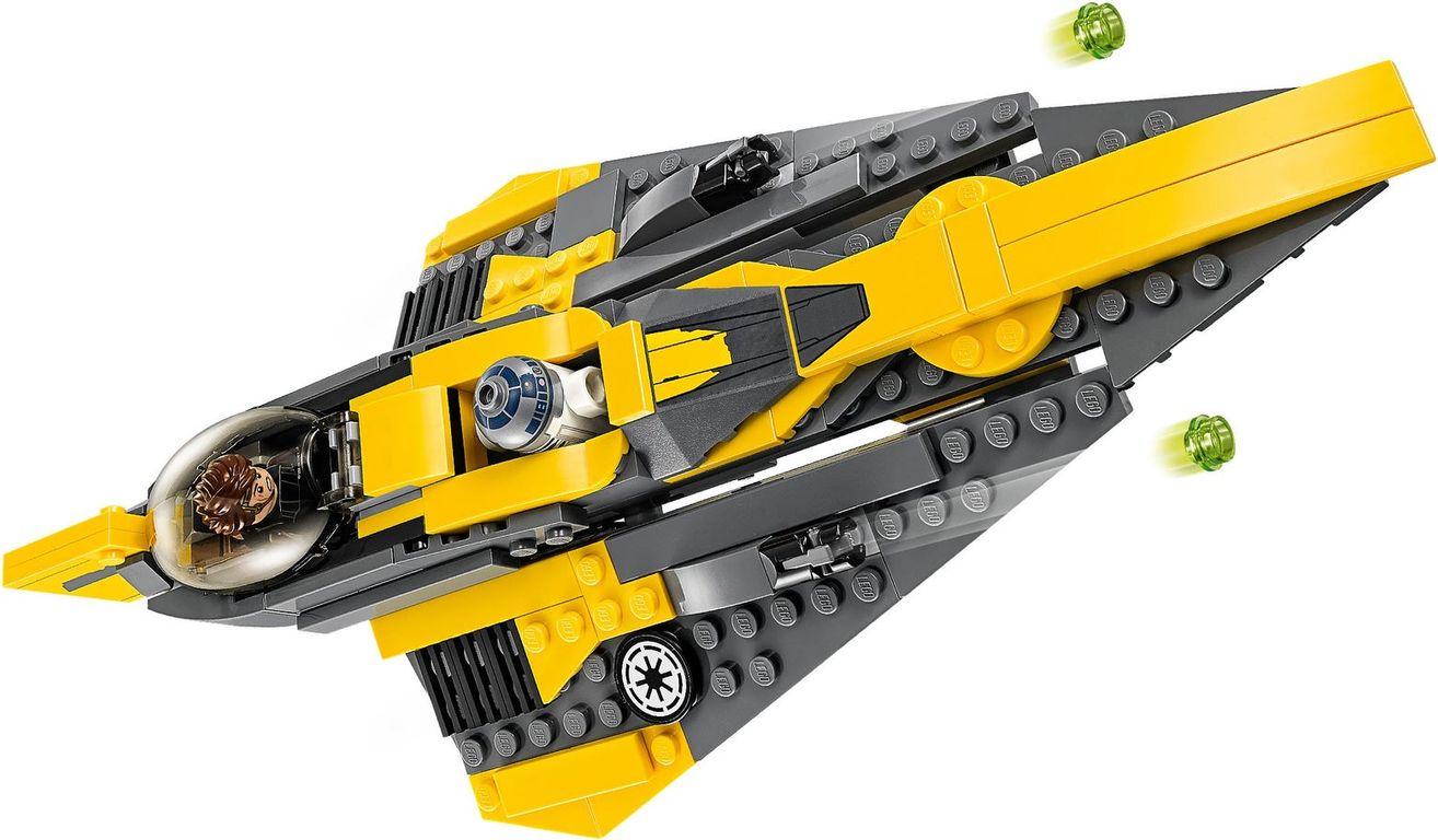 LEGO® Star Wars Anakin's Jedi Starfighter™ components