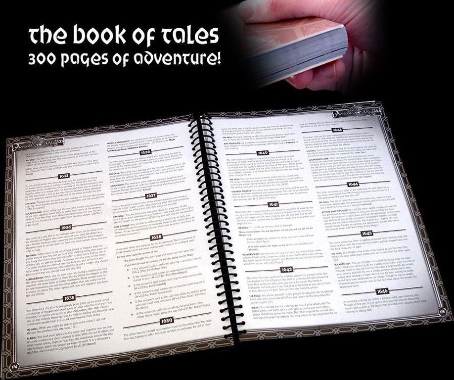 Tales of the Arabian Nights manual