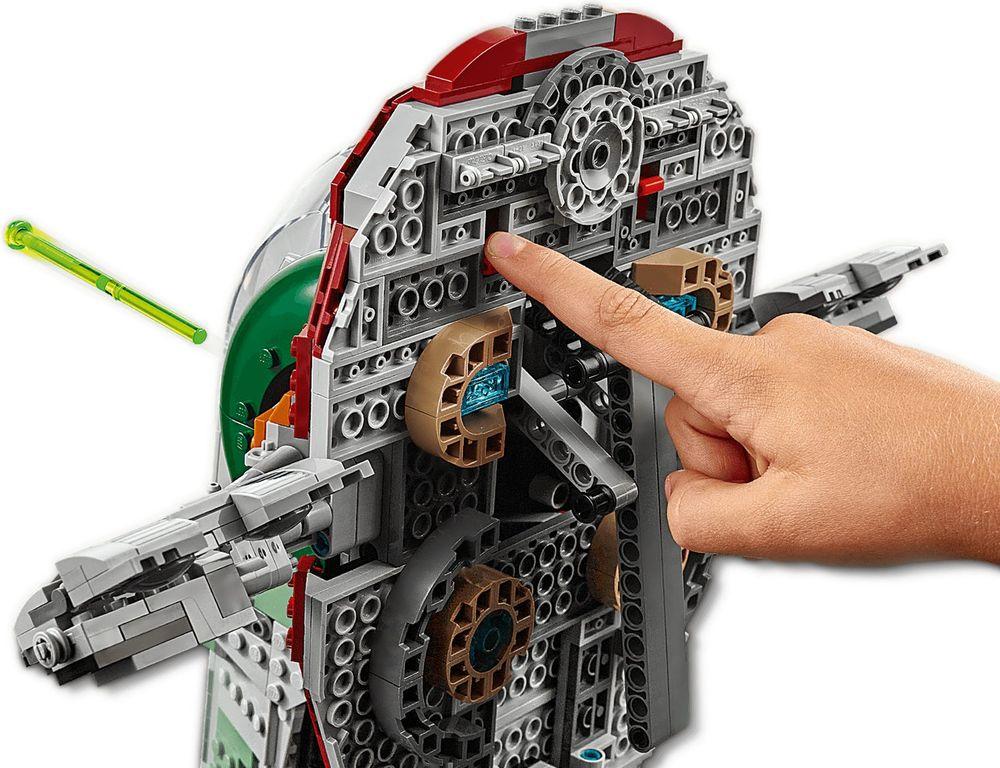 LEGO® Star Wars Slave l™ – 20th Anniversary Edition components