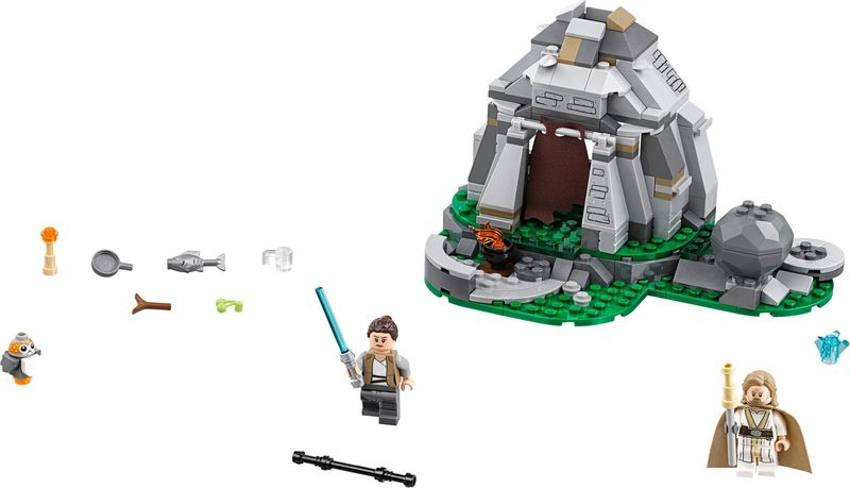 LEGO® Star Wars Ahch-To Island™ Training components