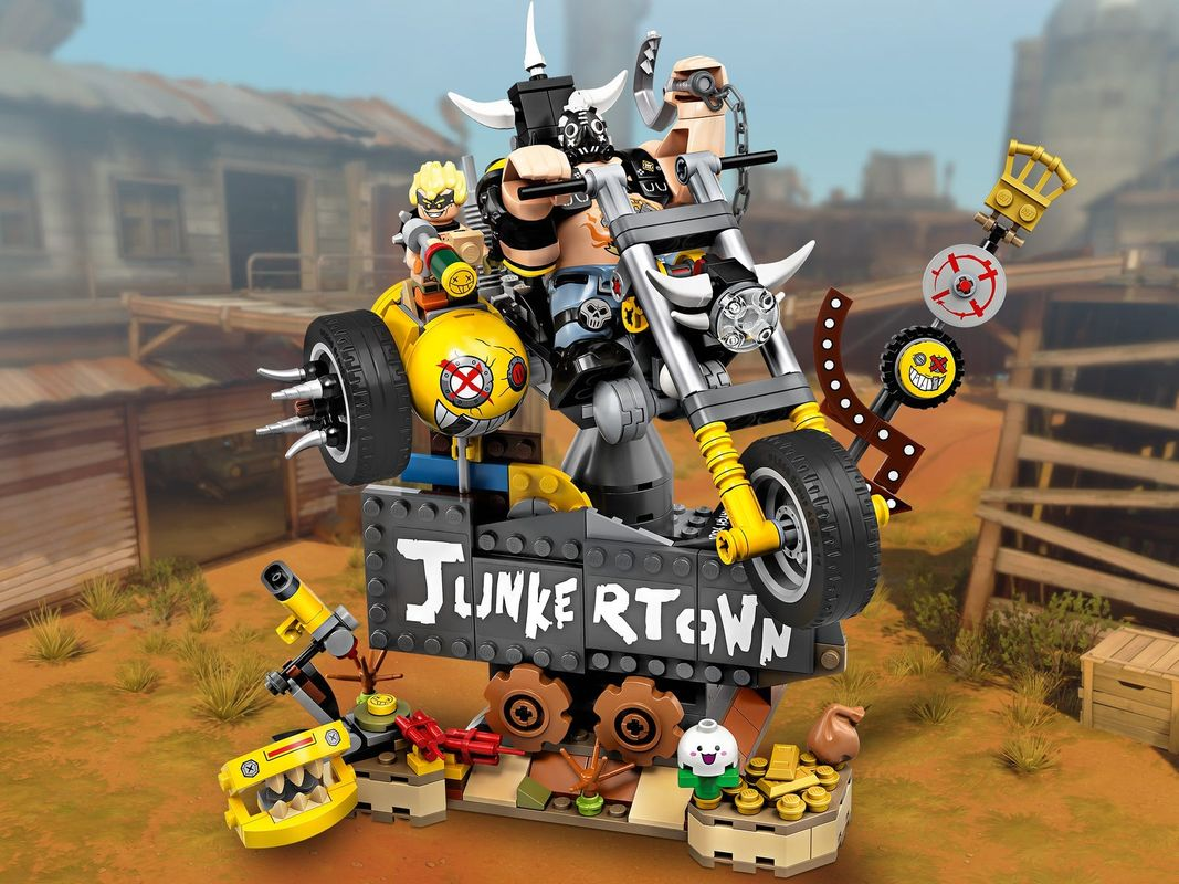 Junkrat & Roadhog components