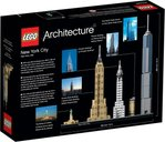 LEGO® Architecture New York City back of the box