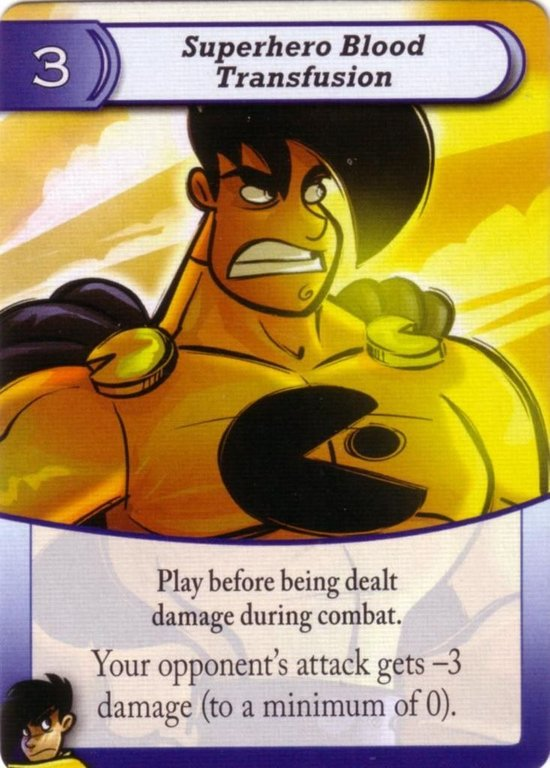 Penny Arcade: The Card Game card
