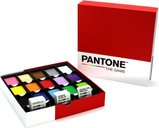 Pantone: The Game components