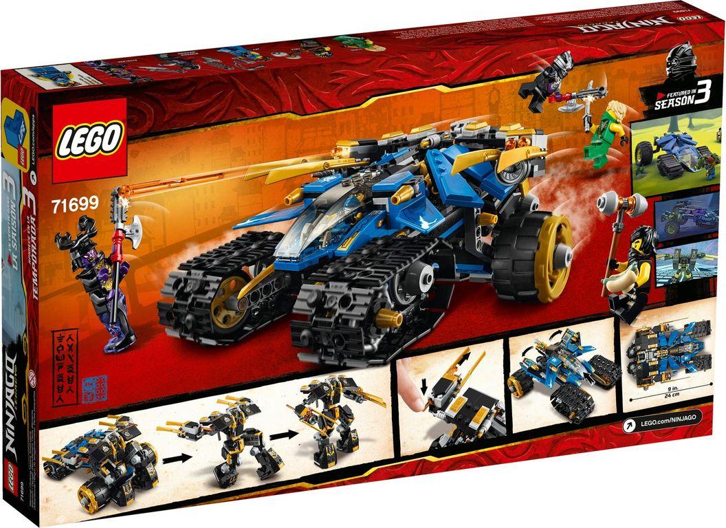 LEGO® Ninjago Thunder Raider back of the box