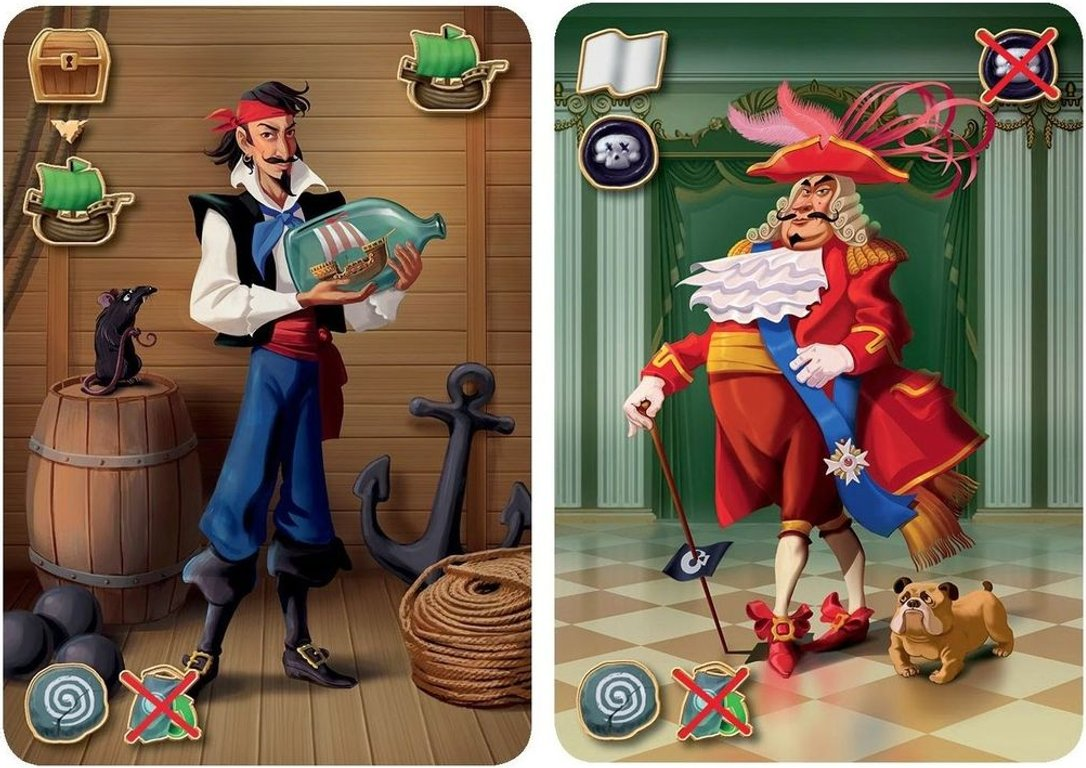 Pirates of the 7 Seas cards