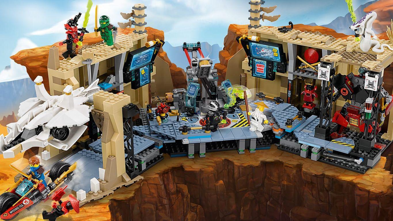 LEGO® Ninjago Samurai X Cave Chaos gameplay