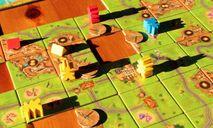 Carcassonne: Gold Rush gameplay