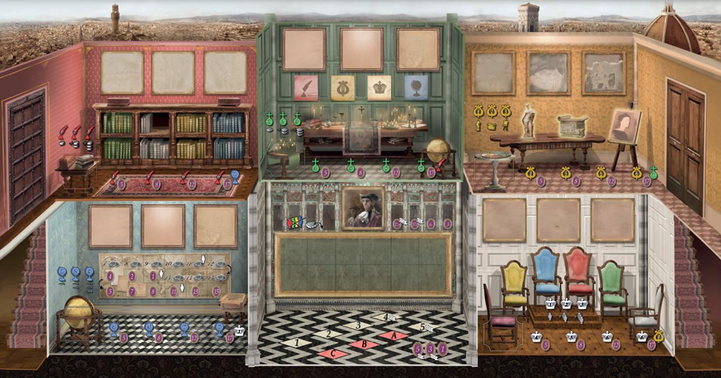 La Stanza game board