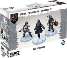 "Dust Tactics: Axis Hero Pack - ""Stefan / Totenmeister / Grenadier X"""