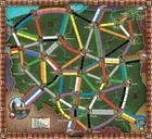 Ticket to Ride : Polska game board