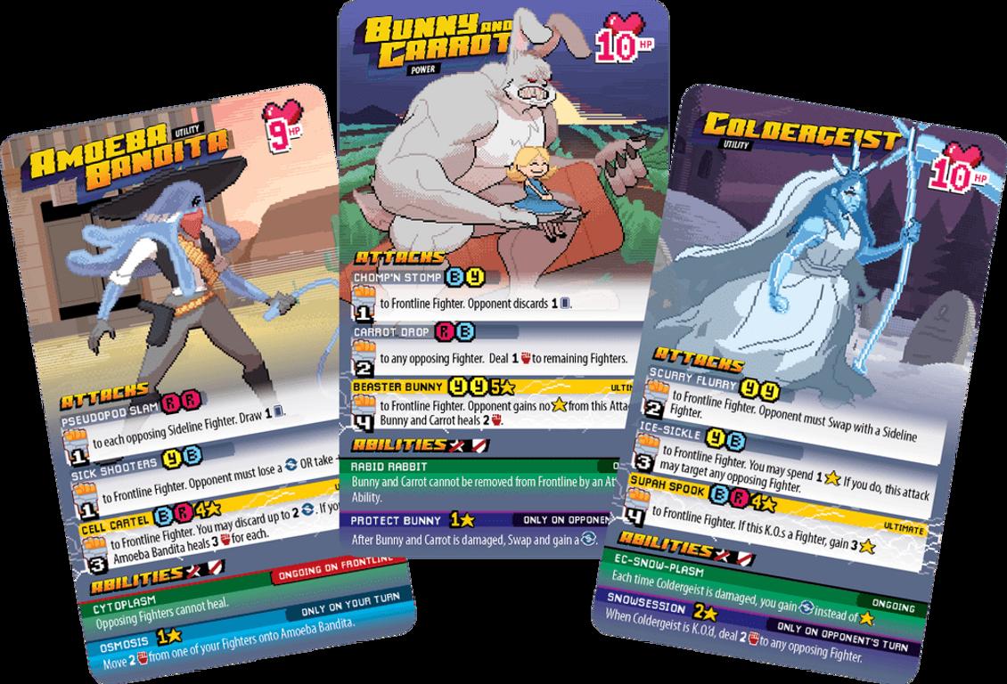 Ultra Deluxe 2D Arcade Mega Fighter cards