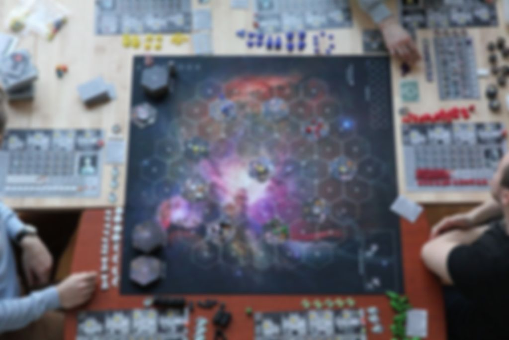 Eclipse: Shadow of the Rift game board