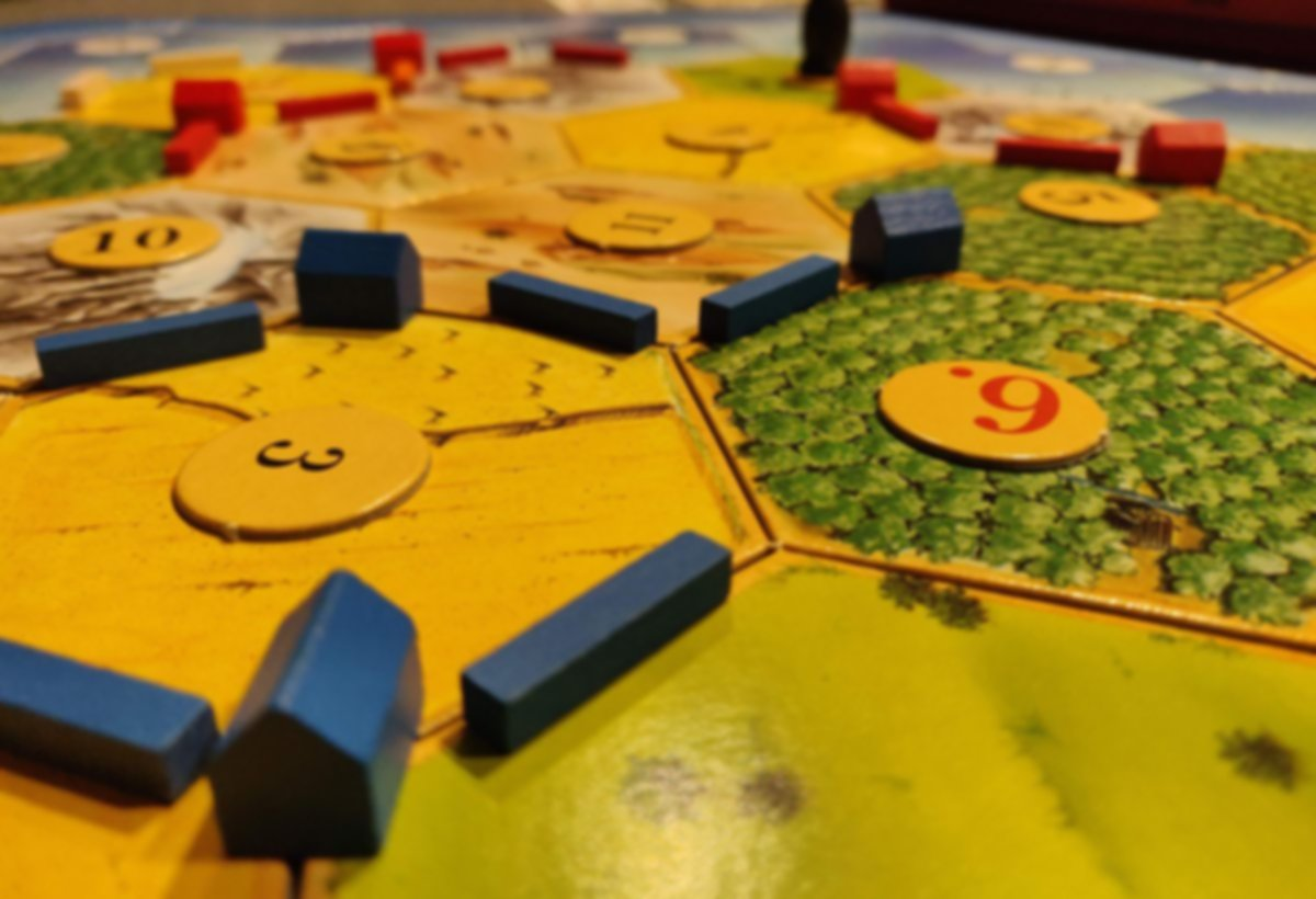 The Settlers of Catan gameplay