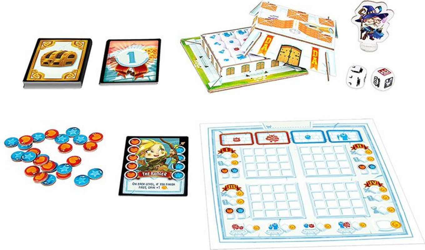 Dungeon Academy components
