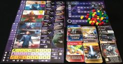 Master of Orion: The Board Game components